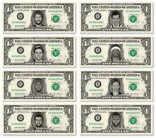Pro Athletes on a Real Dollar Bill Cash Money Collectible Memorabilia Novelty 2