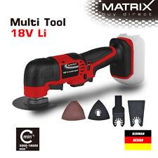 NEW MATRIX 18v Cordless Oscillating saw Oscillating Multi Tool (skin Only)