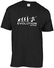 Skydiving, Skydiver - Evolution of man skydive t-shirt