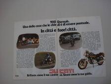 advertising Pubblicità 1979 MOTO DUCATI 900 SD SPORT DARMAH