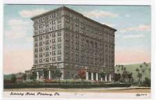Schenley Hotel Pittsburgh Pennsylvania 1910c postcard
