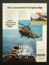 12/1977 PUB AGUSTA HELICOPTER AGUSTA BELL 212 SIKORSKY LMT KALLIMA PAPILLON AD