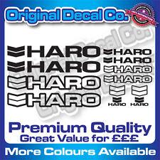 Premium Quality Haro Bike Decals Stickers mountain bike frame mtb set
