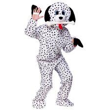Adult DOTTY DALMATIAN Mascot Dog Puppy Pet Cruella Fancy Dress Deluxe Dalmation