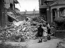 Children Debris Rare WWII World War Two WW2 Old Retro Giant Wall Print POSTER