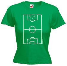 FUßBALLPLATZ Girl-T-Shirt, grün