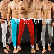 Sexy Modal U convex pouch Men's Warm pants Long johns Thermal Underwear S M L XL