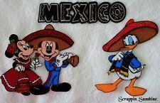 DISNEY EPCOT MEXICO - YOU CHOOSE - Printed Scrapbook Page Paper Piece - SSFFDeb