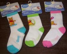 Disney Winnie the Pooh Kids socks, Baby Shower, Diaper Cake, 0-6, 6-12, 12-24M