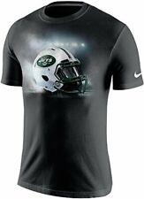 Nike New York Jets Vapor Helmet Men's T-Shirt, Black NEW