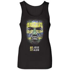 UFC Women's Jose Aldo War Paint Tank Top - Black
