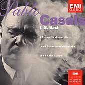 J. S. Bach: The 6 Cello Suites Pablo Casals Audio CD EMI Classics