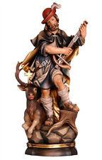 Saint Hubert statue wood carved