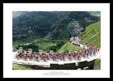 Tour de France Sestrieres to L'Alpe-D'Huez Cycling Photo Memorabilia (310)
