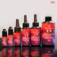 10-200g Epoxy UV Resin Ultraviolet Curing Solar Cure Sunlight Activated Hard DIY