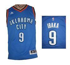 Oklahoma City thunder NBA swingman Ibaka maillot Adidas shirt maillot camiseta