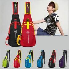 Travel Chest Cross One Shoulder Strap Bag Outdoor Waterproof Sling Backpack JJ
