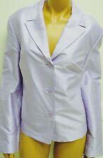 Talbots Purple Jacket Shantung Pure Silk Jacket Blazer Coat RET 158 New Lavender