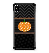 Ravishing Lush Halloween Pumpkin Polka Dot Chevrons Pattern 2D Phone Case Cover