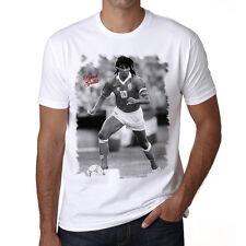 Ruud Gullit t shirt homme, Manches Courtes, Coton blanc cadeau
