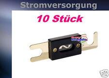 Car Hifi Streifensicherung 250 Ampere Sicherungen verg. 10x 250A ANL Sicherung