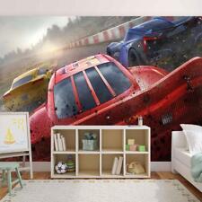 Photo Wallpaper Woven Wall Mural Art Cars Movie Mcqueen Jackson Storm Disney M49