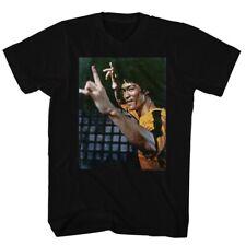 BRUCE LEE YEEEAAAHH BLACK ADULT Short Sleeve T-Shirt