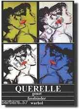 QUERELLE Fassbinder Warhol POSTER 70x100 Non Piegato!