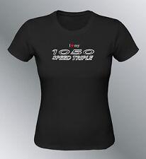Tee shirt personnalise Speed Triple 1050 S M L XL femme moto
