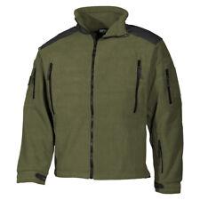 MFH Heavy Strike Fleece Chaqueta Lana Hombre Senderismo Trekking Pesca OD Verde
