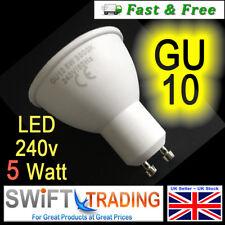 GU10 Light bulbs 5w = 50w Spotlight Downlight High Power Long Life GU10 LED Bulb