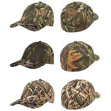 6 FLEXFIT Mossy Oak Break Up / MO Infinity Fitted Hunting Cap S/M L/XL Camo Hats