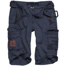 Surplus Royal Shorts Mens Fashion Cotton Military Airsoft Bottoms Royal Blue