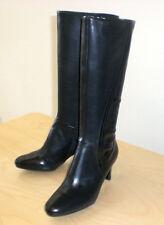 Easy Spirit Damans boot black leather sz 10 Narrow NEW