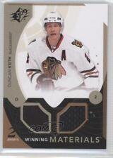 2010-11 SPx Winning Materials #WM-DK Duncan Keith Chicago Blackhawks Hockey Card