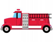 Feuerwehrauto Aufkleber Sticker Autoaufkleber Scheibenaufkleber