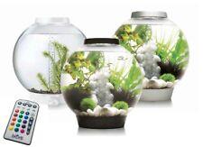 Biorb Classic 15 30 MCR LED Colour Change Silver Black White Aquarium Fish Tank
