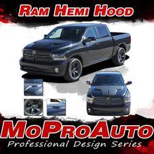 2009-2018 Dodge Ram Factory Style HEMI HOOD 3M Pro Vinyl Graphics Decals Stripes