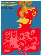 La Lampara maravillosa se Aladino Decor Poster.Graphic Art Interior design 3479