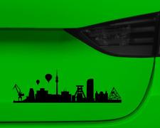 Aufkleber Ruhrgebiet mit Sehenswürdigkeiten  11 Farben 2 Größen