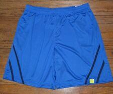 Tek Gear Performance Shorts Blue Training Short DryTek Cooltek Wicking Short