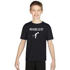 T-shirt ENFANT PRIX NOBEL DU PET