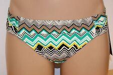 New La Blanca Swimsuit Bikini Bottom EMR Cinched Classic