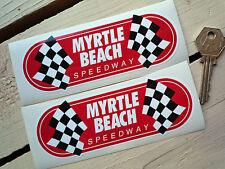 MYRTLE BEACH SPEEDWAY NASCAR  INDY Racing Car Stickers