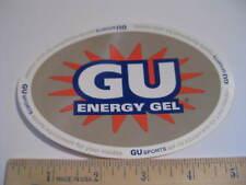 GU Energy Gel Sports Bike Ride Run Power STICKER DECAL