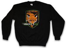 FOXHOUND Logo Felpa Pullover Boss Metal Gear PC Game Solid FOX HOUND Snake