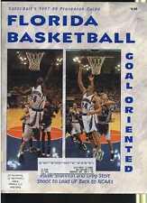 1997/98 Gator Bait Basketball Yearbook Greg Stolt Eddie Shannon MBX45
