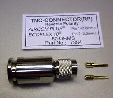 1 x TNC-RP Stecker für Ecoflex 10 / Aircom Plus (M3555)
