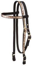 New listing Premium Nylon Browband Headstall w/ Matching Reins! Leopard or Zebra