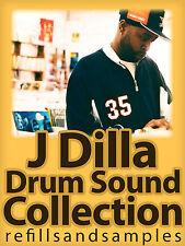 J Dilla Underground Hip Hop Rap Rnb Drum Sound WAV Akai MPC FL Studio Samples CD